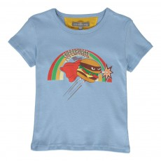 T-Shirt Super Burger Lavande
