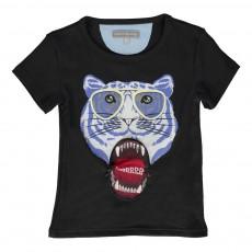 T-Shirt Tiger Noir