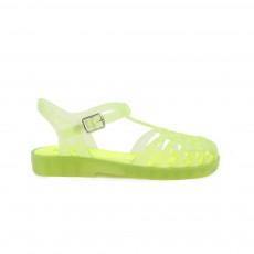 Sandales Plastique Niza Jaune fluo