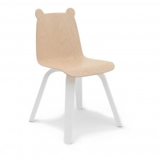 Chaises Play ours bouleau - Lot de 2