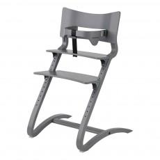 Chaise haute avec arceau Gris