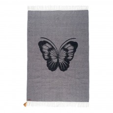 Tapis Gypsy en coton - Papillon