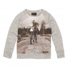 Sweat Motocross Hank Gris chiné