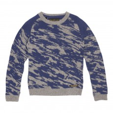 Pull Camouflage Dries Gris clair