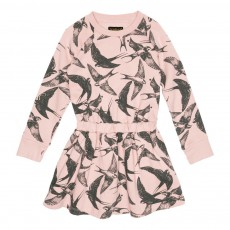 Robe Oiseaux Jelly Rose pâle