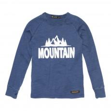 T-Shirt Montagne Neal Bleu indigo