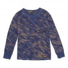 T-Shirt Camouflage Neal Bleu roi