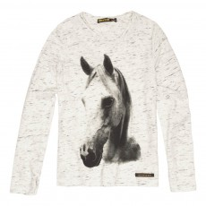 T-Shirt Cheval Nolita Gris chiné