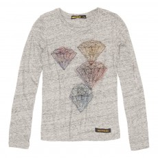 T-Shirt Diamants Nolita Gris chiné