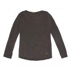 T-Shirt Délavé Saria Noir