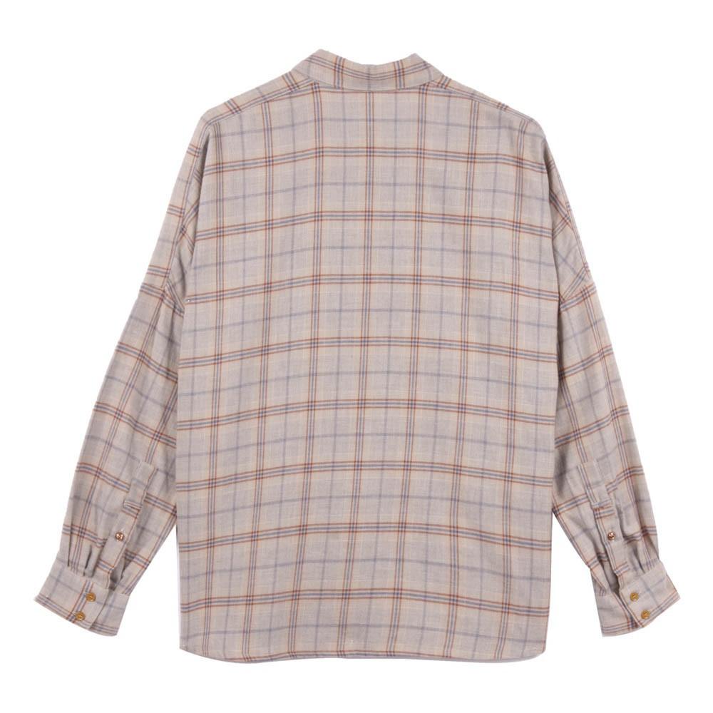chemise carreaux delima gris clair sessun mode enfant smallable. Black Bedroom Furniture Sets. Home Design Ideas