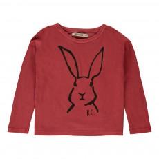 T-shirt Lapin Rouge délavé