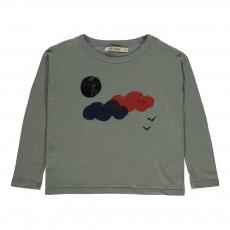 T-shirt Nuages Gris
