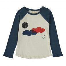 T-shirt Raglan Nuage Bleu marine