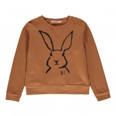 Sweat Lapin Pain d'épice