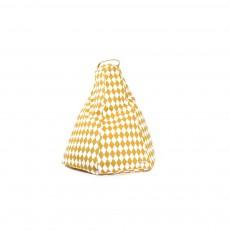 Chaises tabourets mobilier smallable - Pouf jaune moutarde ...