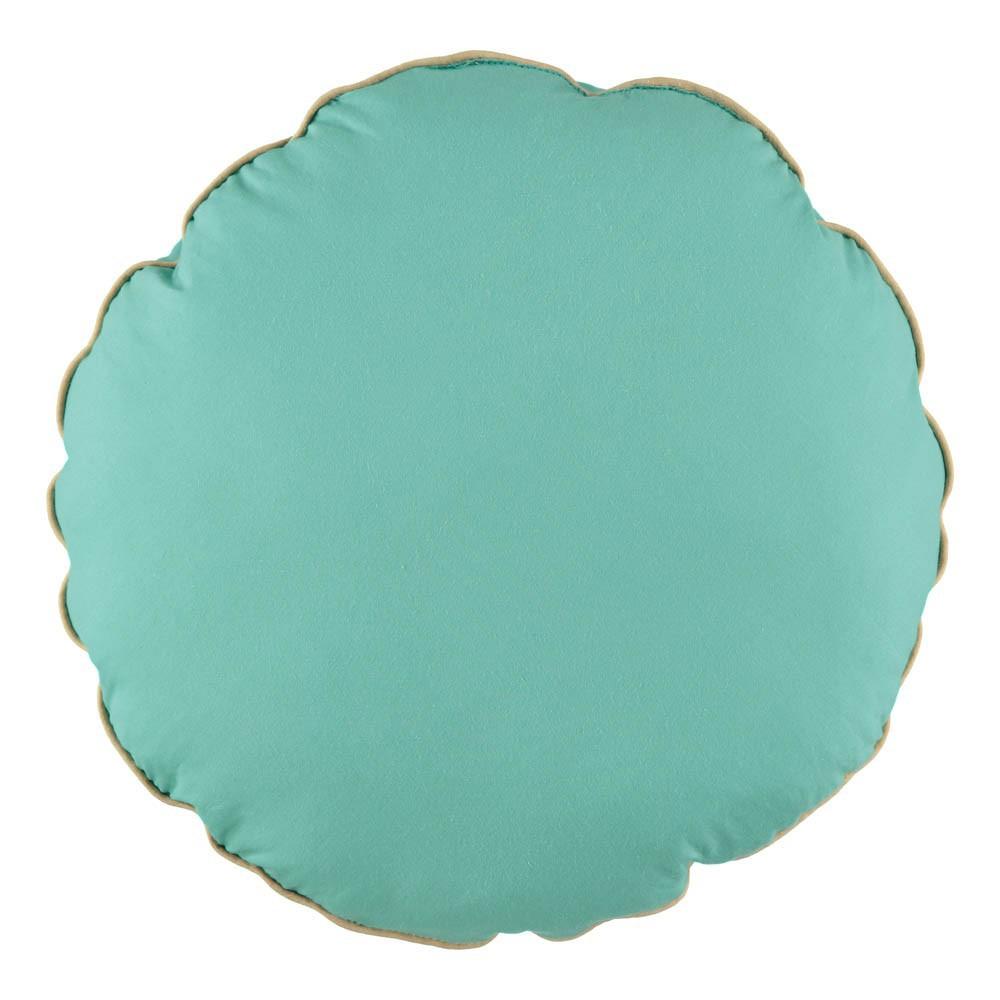 coussin macaron vert d 39 eau nobodinoz d coration smallable. Black Bedroom Furniture Sets. Home Design Ideas