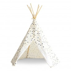Tipi Arizona triangles noir jaune