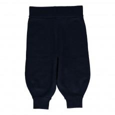 Pantalon Laine Bébe Bleu marine