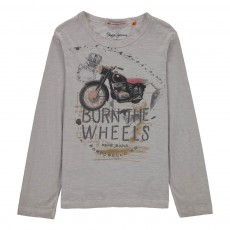 T-shirt Manches Longues Tristan Blanc