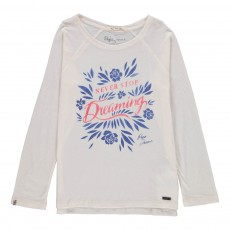 T-shirt Manches Longues Candance Blanc
