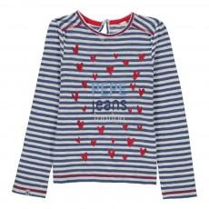 T-shirt Carina Bleu marine