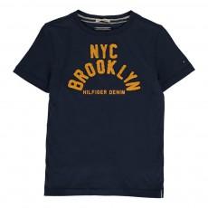 T-Shirt Tabib Brooklyn Bleu marine