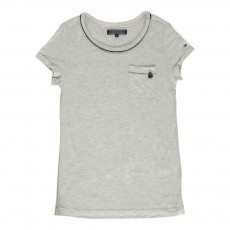 T-Shirt Lurex Lilly Gris chiné