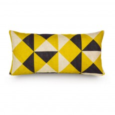 Coussin Broadstairs 23x47 cm Jaune