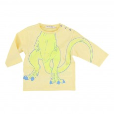 T-shirt Tyrex Jaune pâle