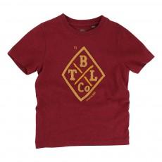 T-shirt Coton Biologique 73 Bordeaux