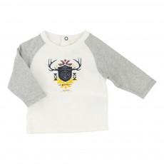 T-shirt Coton Biologique Blanc