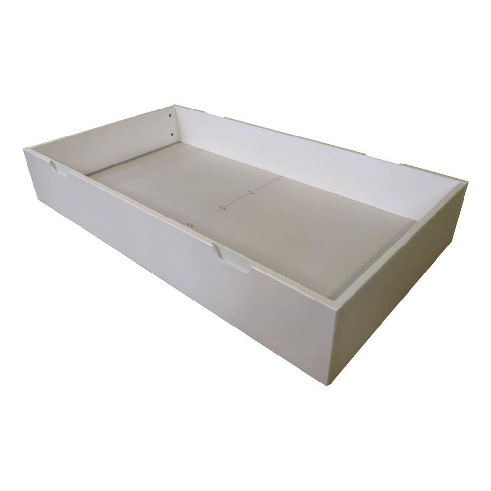 lits tiroirs d appoint  lit tiroir joy evolutif x cm blanc