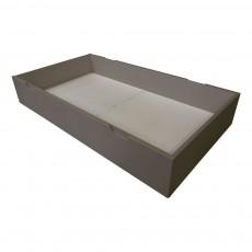 Lit tiroir - Joy évolutif 70x140 cm Gris foncé