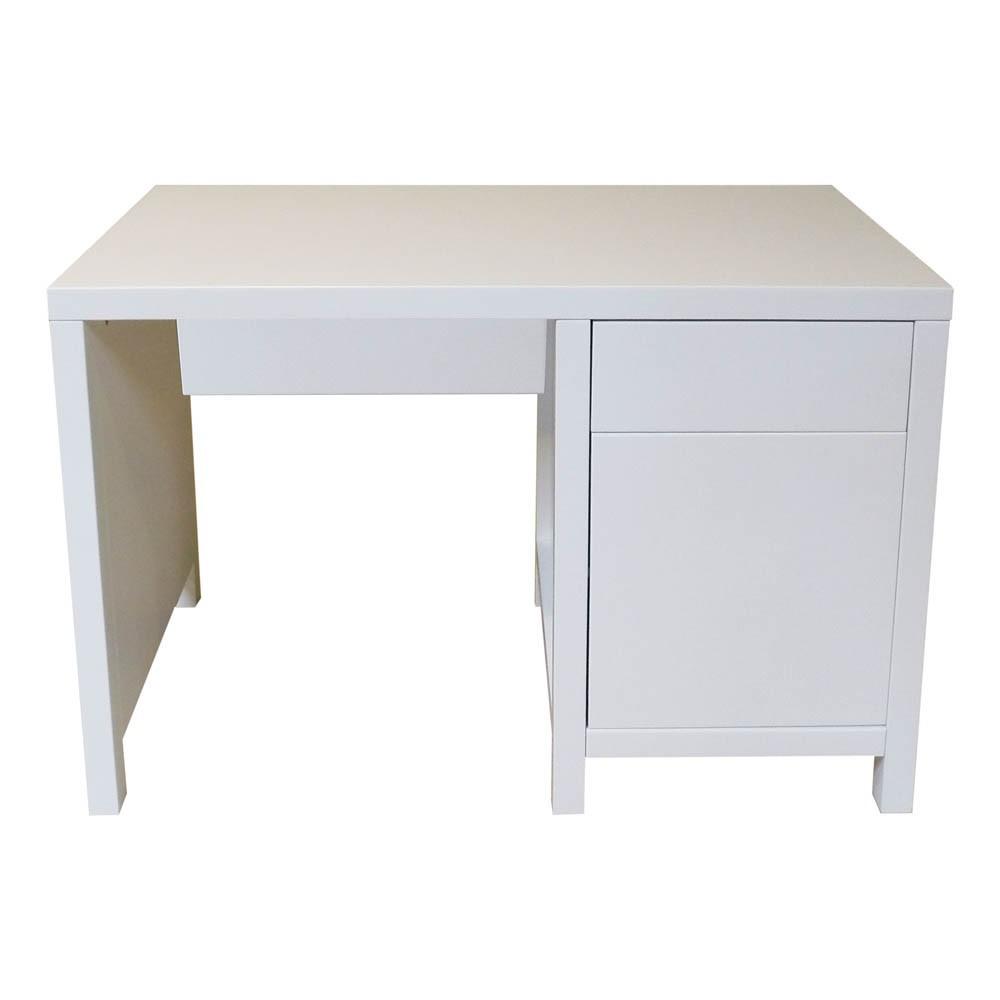 bureau enfant joy blanc quax mobilier smallable. Black Bedroom Furniture Sets. Home Design Ideas