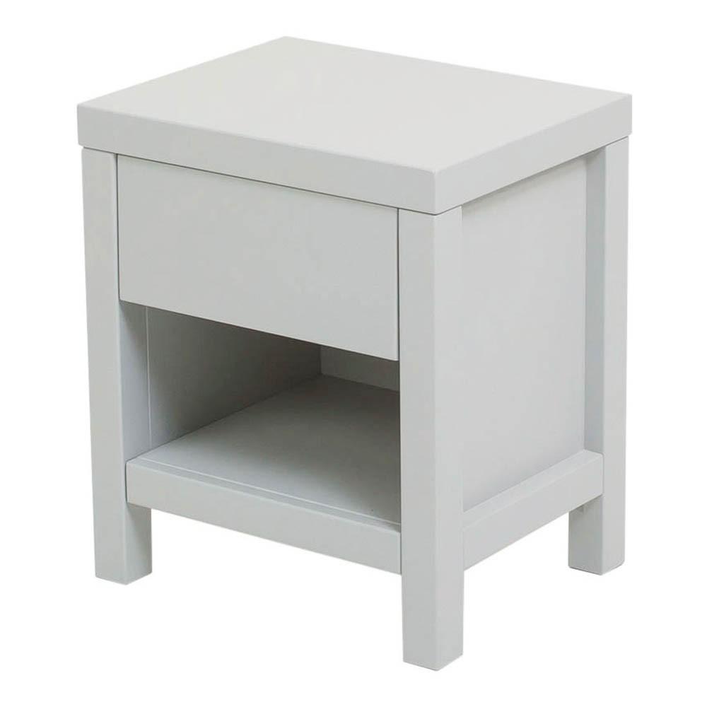 Table de nuit joy blanc quax mobilier smallable for Table de nuit blanc