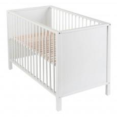 Lit bébé Cubic 60x120 cm Blanc