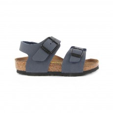 Sandales New York Bleu marine
