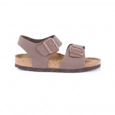 Sandales New York Marron