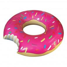Bouée géante Donuts framboise