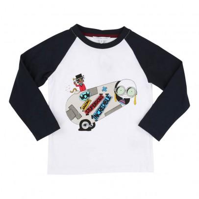 Image du produit T-shirt Bicolore Mr Marc Cirque Blanc