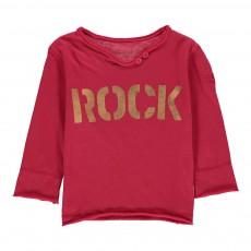 T-Shirt Rock Boxi Rose fuschia