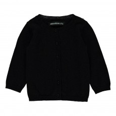 "Cardigan ""Love Is"" Dos Balou Noir"