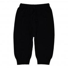 Pantalon Laine Cachemire Huggo Noir
