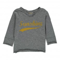 T-Shirt Sunshine Boxi Gris chiné