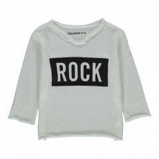T-Shirt Rock Boxi Blanc