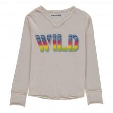 T-Shirt Wild Boxer Blanc cassé