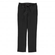 Pantalon Fluide Lurex Paul Noir