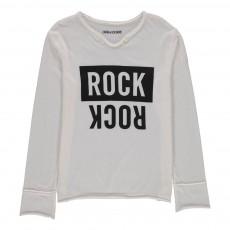 T-Shirt Rock Boxer Blanc