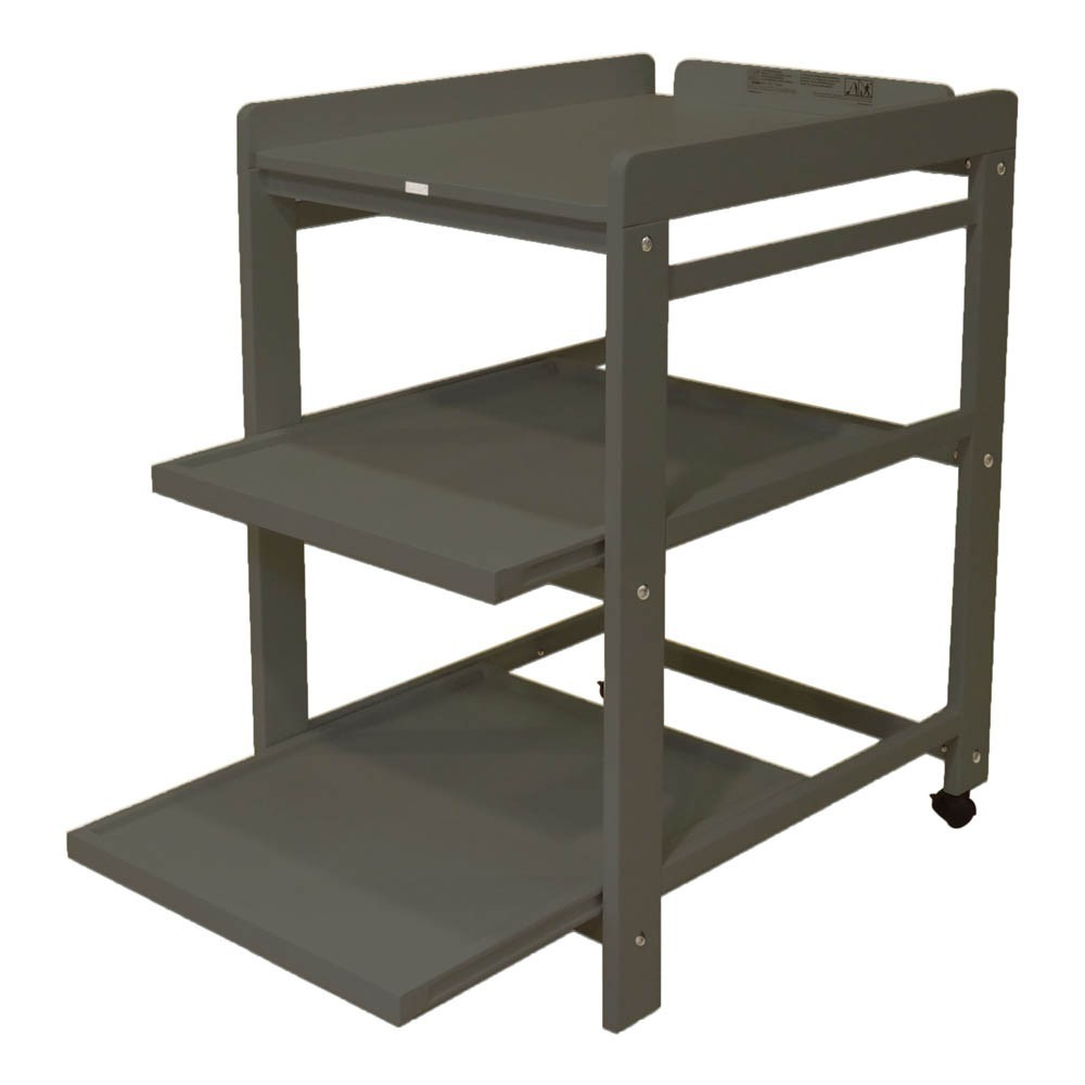 Table langer comfort tag res extractibles gris fonc - Table a langer compact ...